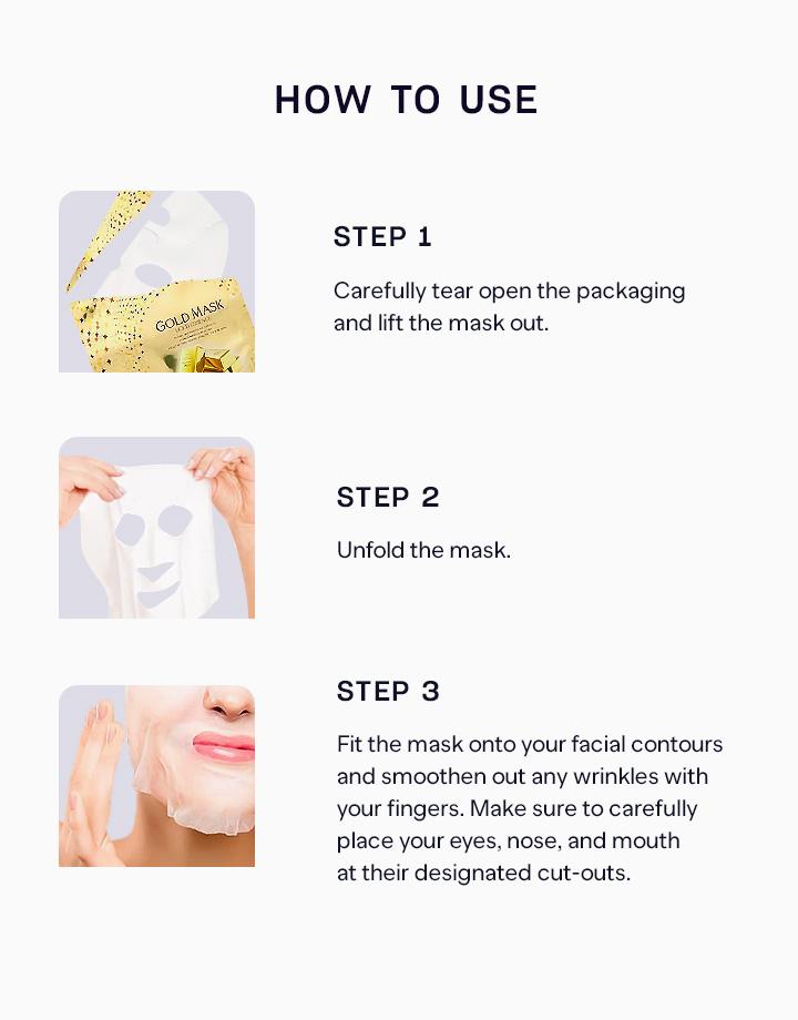 4 gold essence mask