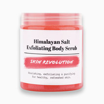 Skin revolution salt exfoliating body scrub