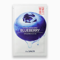 The saem natural sheet   blueberry