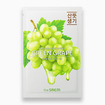 The saem natural sheet   green grape