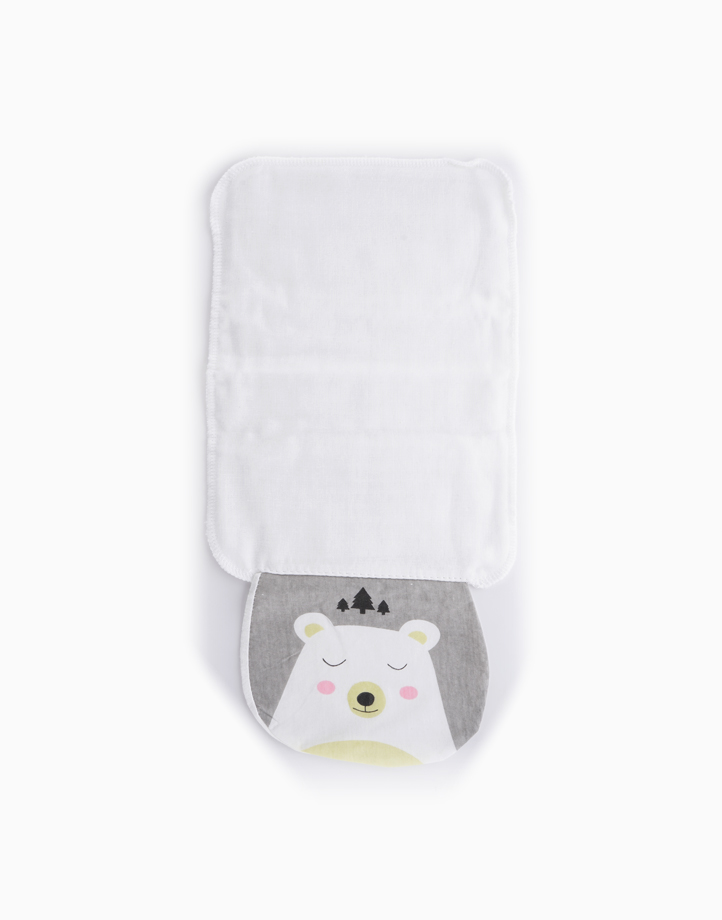 Paul the Bear Sweat Towel by Gubby and Hammy