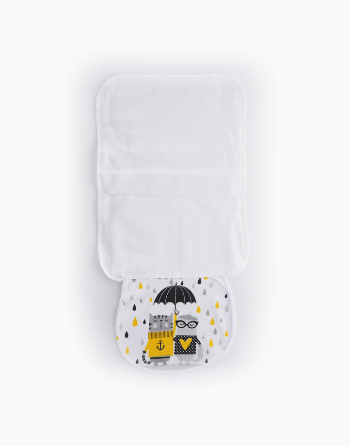 Cathy under the rain Sweat Towel by Gubby and Hammy