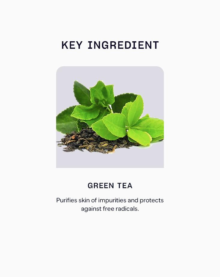 3 green tea foam cleansing