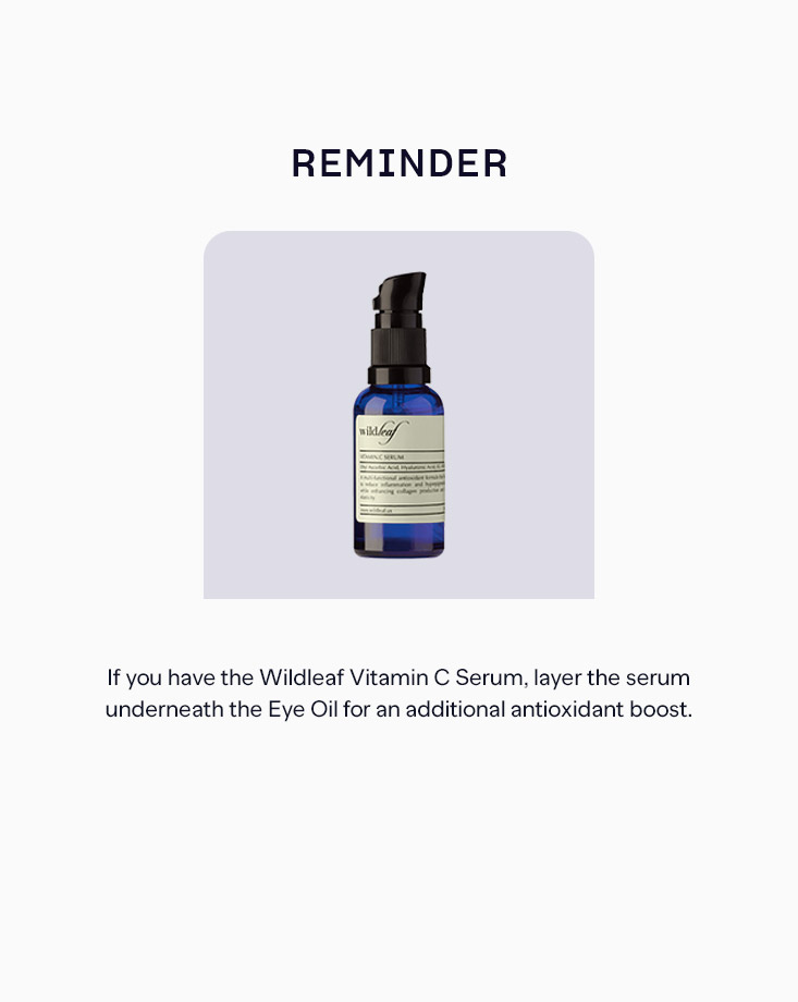 6 infinity eye oil