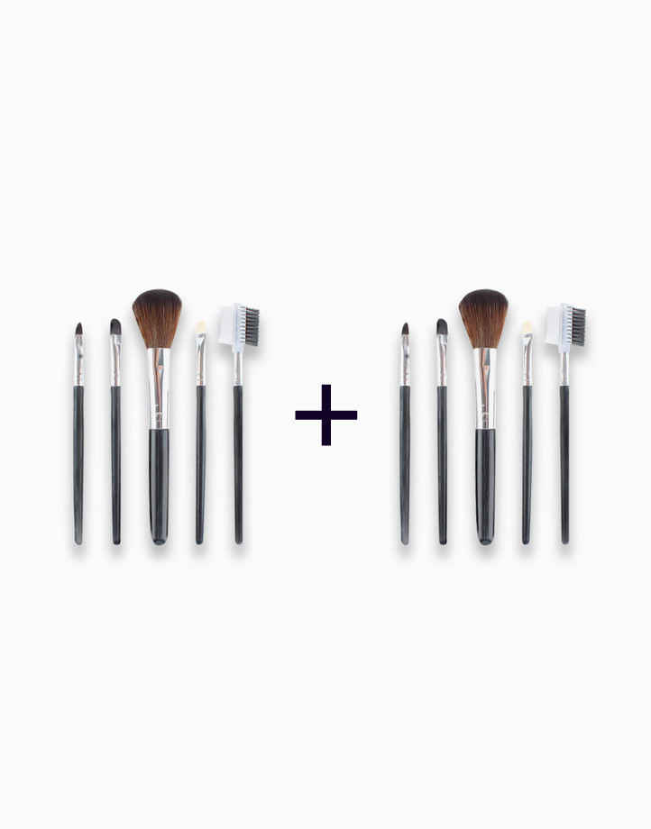5-Piece Travel Brush Set (Buy 1, Take 1) by PRO STUDIO Beauty Exclusives