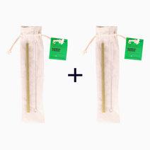 B1t1 trvlr bamboo straw set