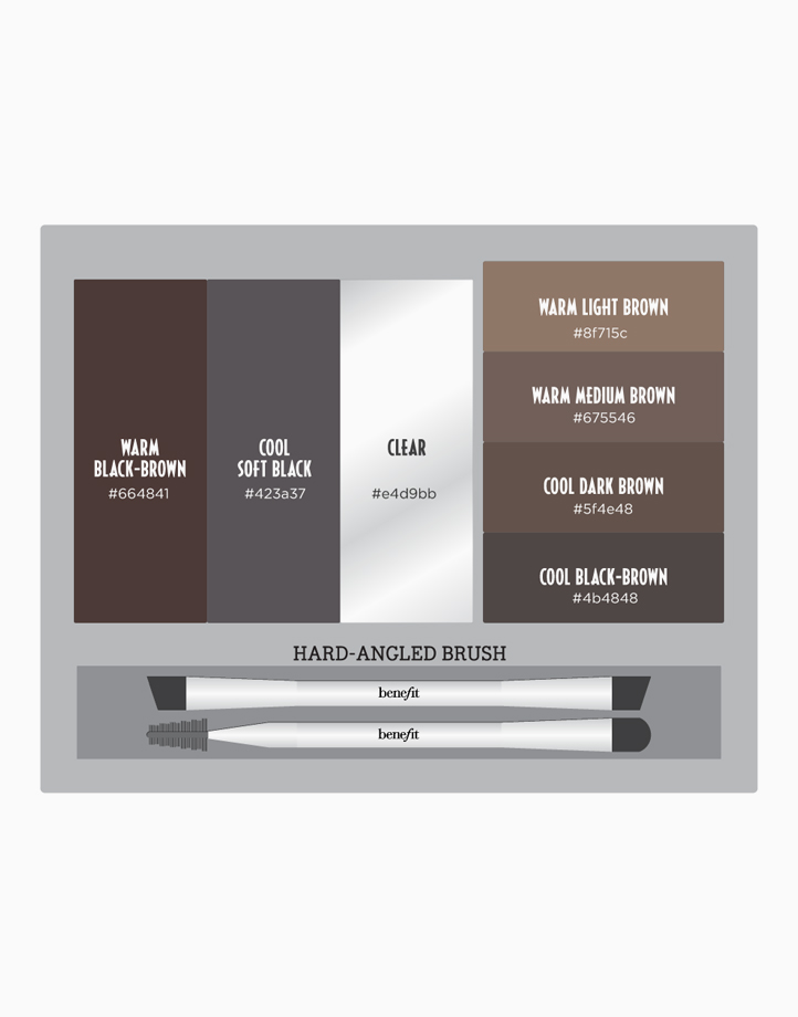 Brow Zings Pro Palette by Benefit | Medium-Deep