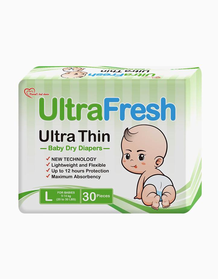 Large UltraFresh Ultra Thin Diaper by UltraFresh