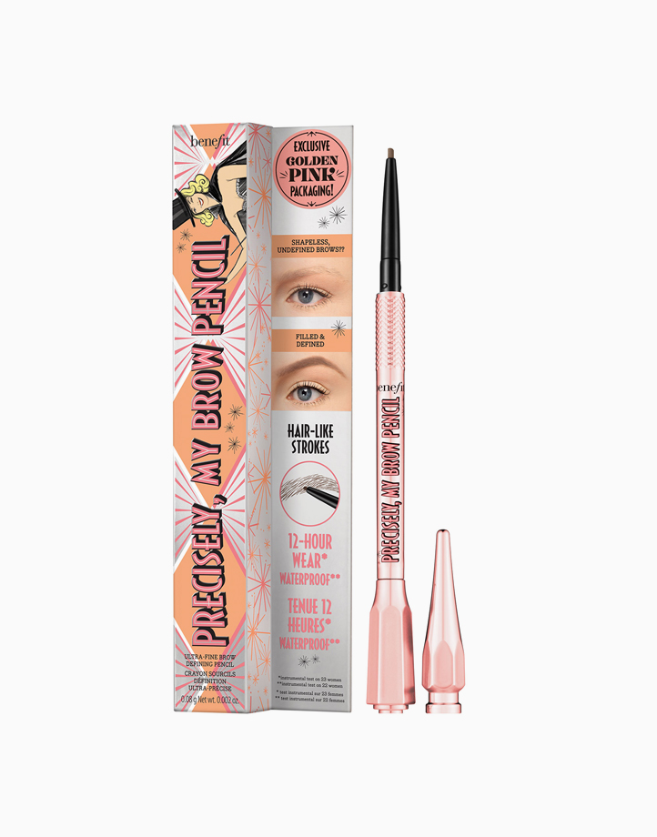 Precisely, My Brow Eyebrow Pencil in Rose Gold by Benefit | Shade 3.5 - Neutral Medium Brown
