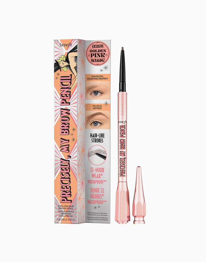 Precisely, My Brow Eyebrow Pencil in Rose Gold by Benefit   Shade 4 - Warm Deep Brown