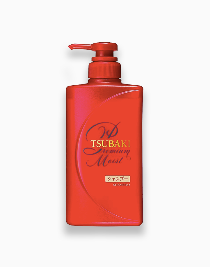 Tsubaki Premium Moist Shampoo Bottled (490ml) by Shiseido