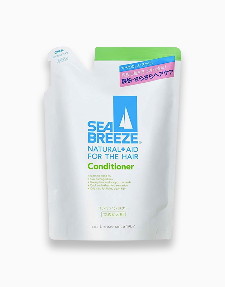 Sea Breeze Natural + Aid For Hair Conditioner Refill (400ml) by Shiseido