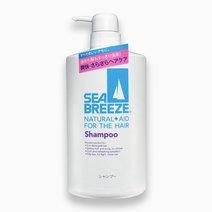 Shiseido sea breeze natural   aid for hair shampoo bottled 600ml