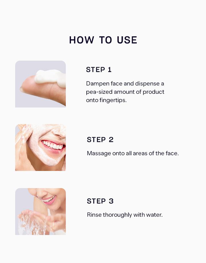4 pure skin herb cleansing foam