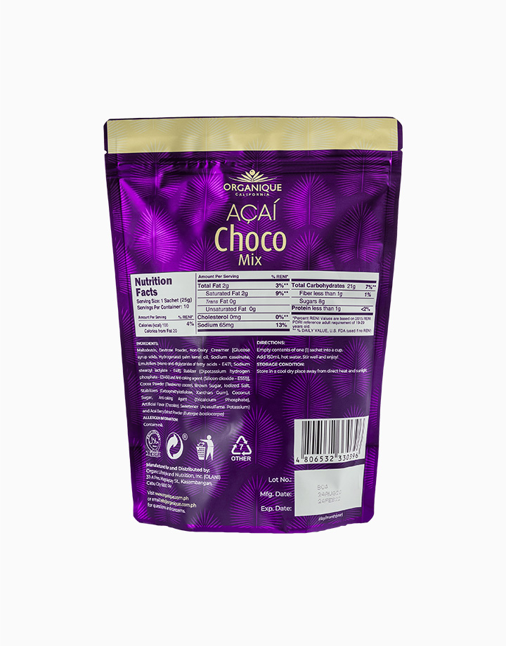Acai Choco Mix (25g, 10 Sachets) by Organique Açaí
