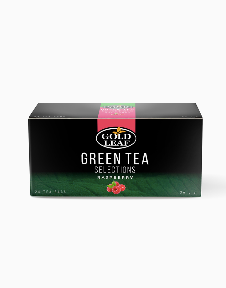 Green Tea Selections: Raspberry (24s) by Gold Leaf