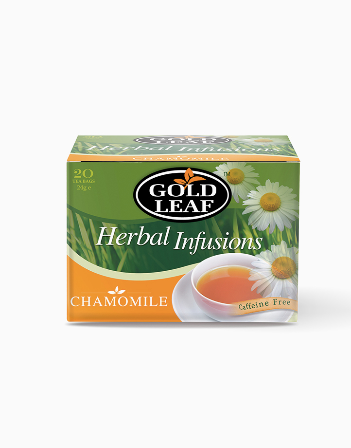 Herbal Infusions: Chamomile (20s) by Gold Leaf