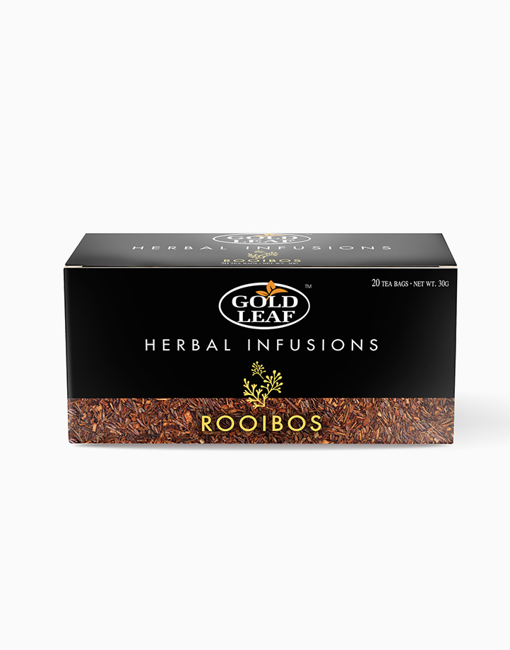 Herbal Infusions: Rooibos (20s) by Gold Leaf