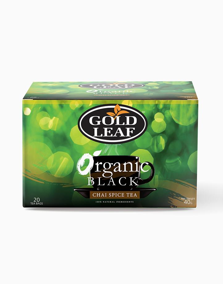 Organic Teas: Organic Black Chai Spice Tea (20s) by Gold Leaf
