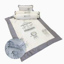 Kozy blankie circus baby comforter set