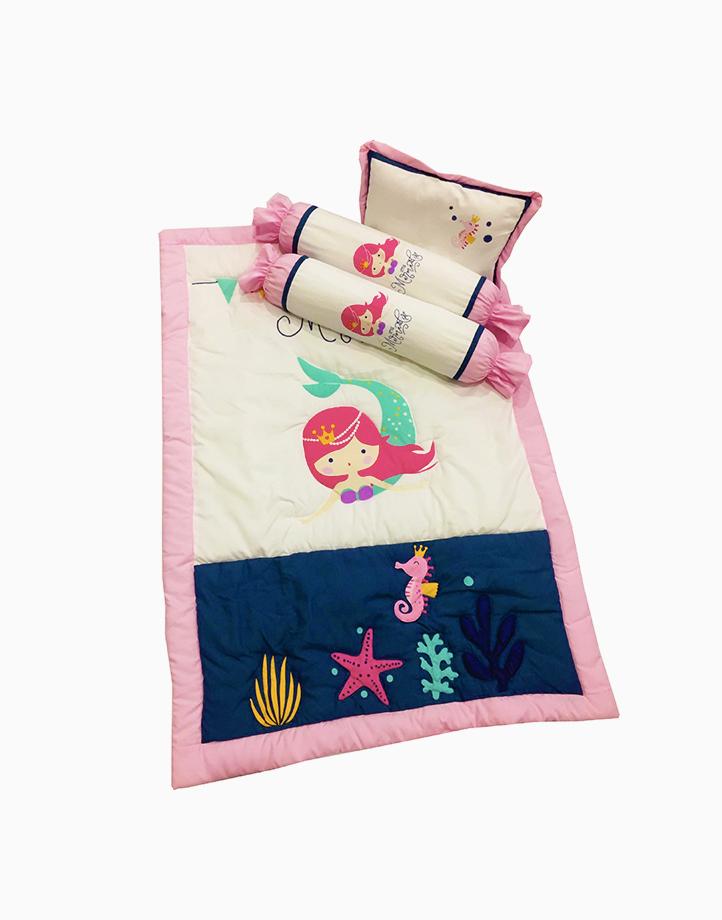 My Little Mermaid Baby Comforter Set by Kozy Blankie