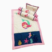 Kozy blankie my little mermaid baby comforter set