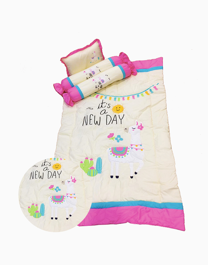 It's a New Day Baby Comforter Set by Kozy Blankie