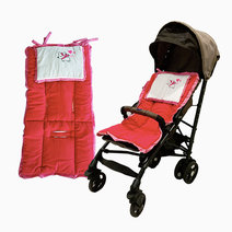 Kozy blankie love in paris stroller pad
