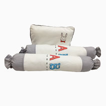Kozy blankie little bunny  pillow and bolster set