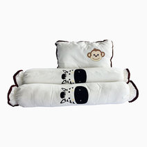 Kozy blankie happy zoo  pillow and bolster set