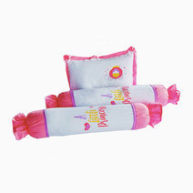 Kozy blankie a little princess  pillow and bolster set