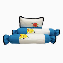 Kozy blankie dr. robot  pillow and bolster set