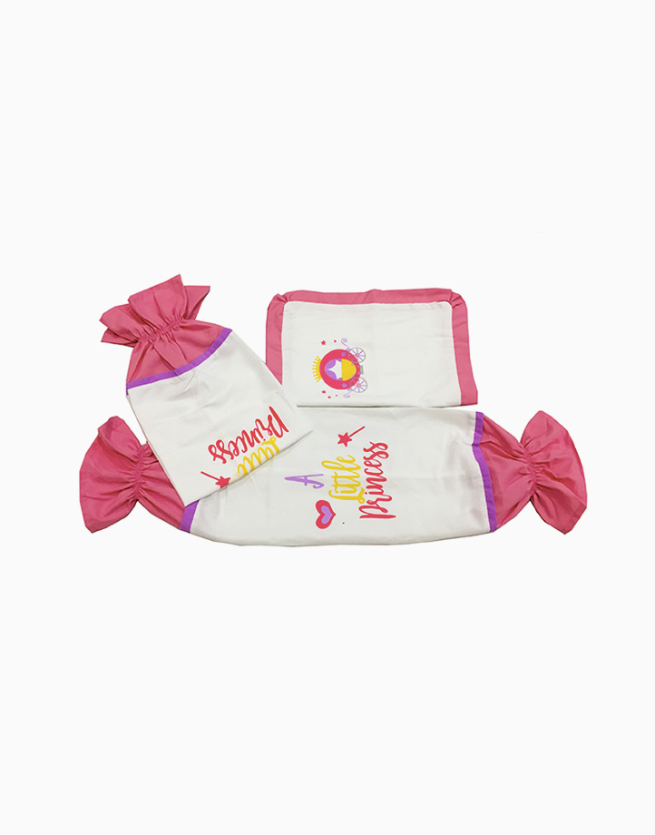 A Little Princess Pillow Case and Bolster Case by Kozy Blankie