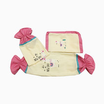 It's a New Day Pillow Case and Bolster Case by Kozy Blankie