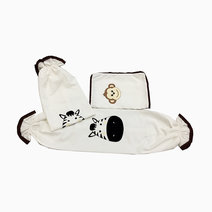 Happy Zoo Pillow Case and Bolster Case by Kozy Blankie