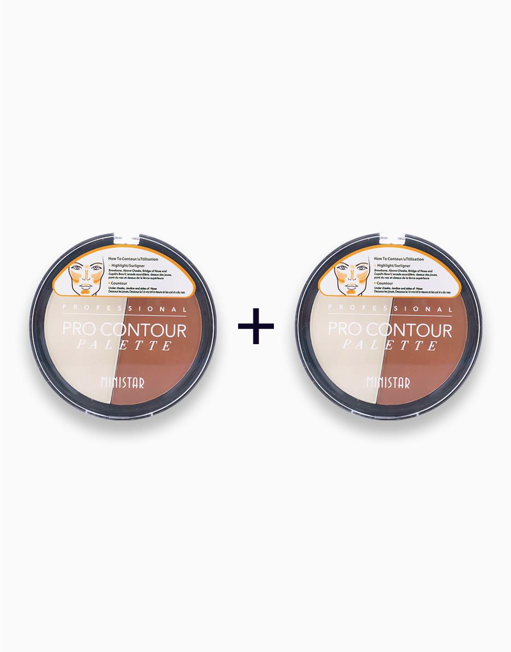 Pro Contour Palette (Buy 1, Take 1) by Ministar
