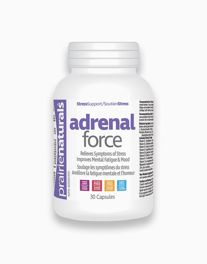 Adrenal Force Bovine Adrenal Cortex Gland, 30 Capsules by Prairie Naturals