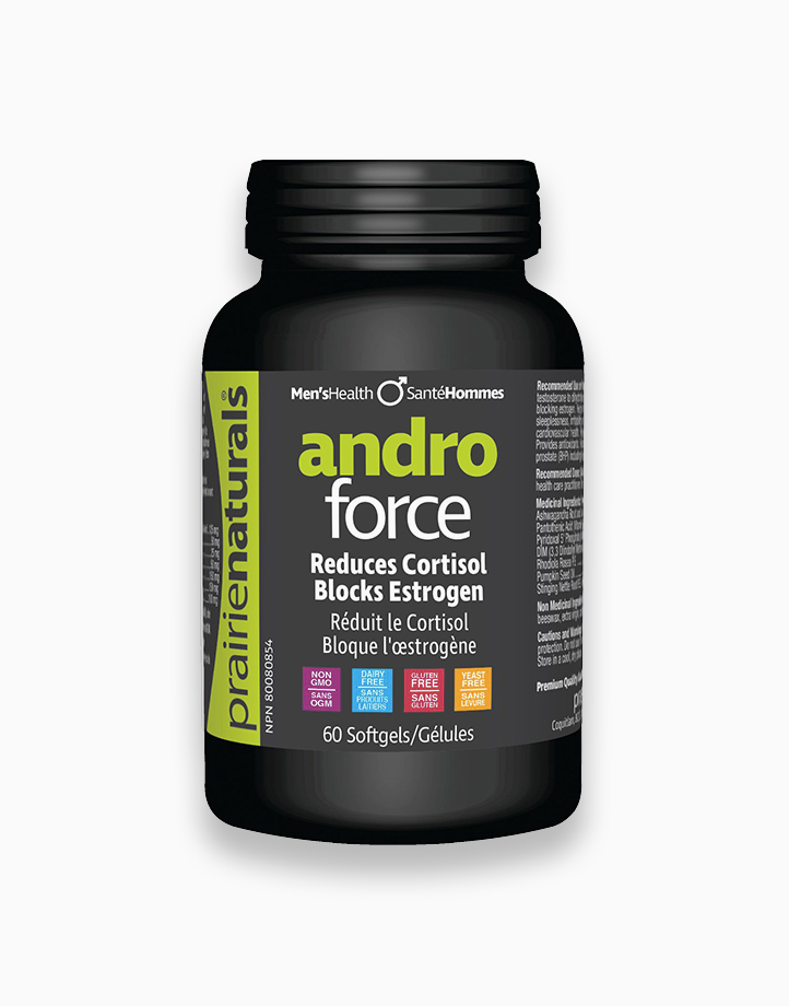 AndroForce, 60 Softgels by Prairie Naturals