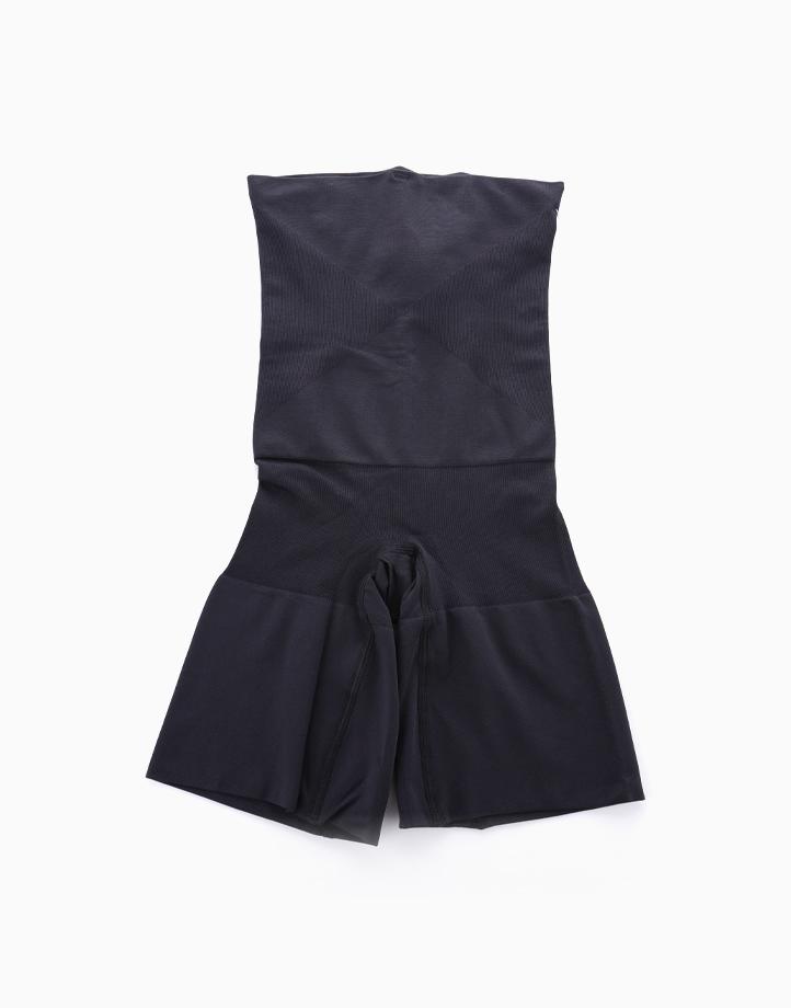 Super Shaper Thigh Bodysuit in Black by Jellyfit | XS/S