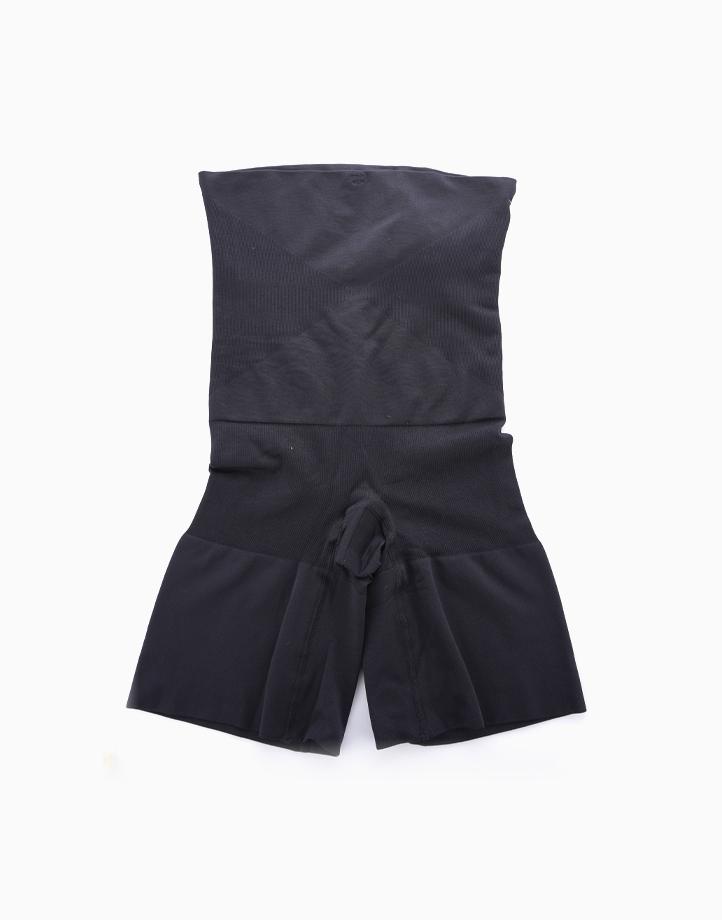 Super Shaper Thigh Bodysuit in Black by Jellyfit | XL/XXL