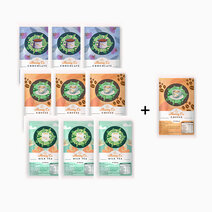 25g sachet sampler pack %283 coffee  3 milk tea  3 choco 1 free coffee%29