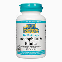 Acidophilus bifidus double strength  10 billion active cells  90 capsules