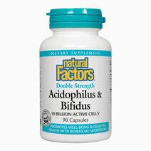Acidophilus bifidus double strength  10 billion active cells  90 capsules
