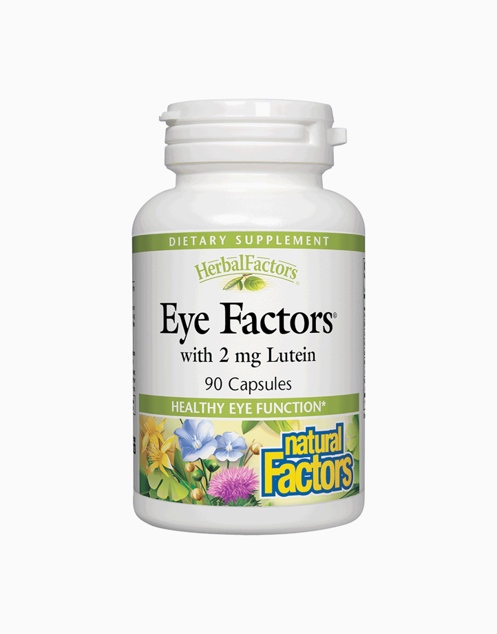 Eye Factors with 2mg Lutein (90 Capsules) by Natural Factors