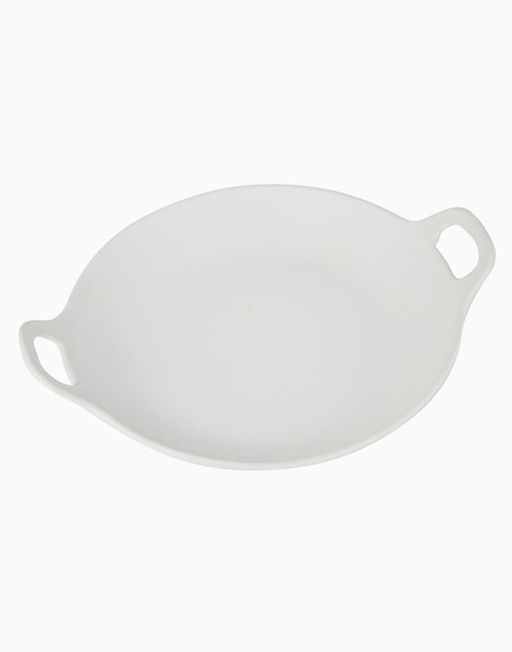 Cera-Low Serving Platter by cozsho   Cool White