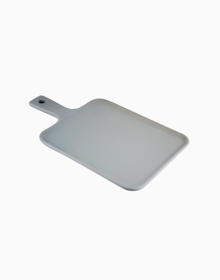 Matte Flat Mini Serving Tray by cozsho | Smoke Gray