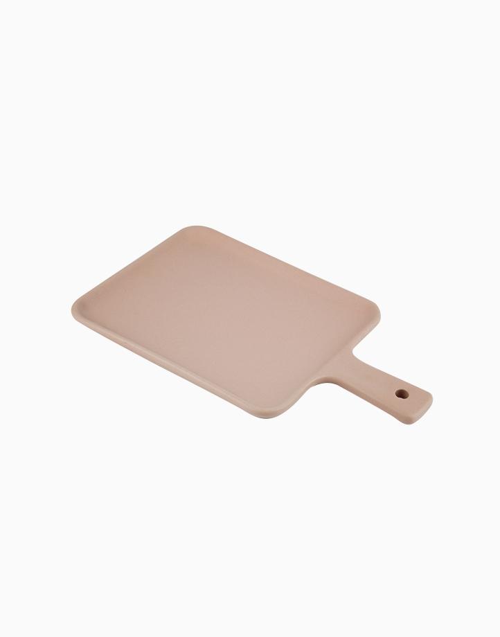 Matte Flat Mini Serving Tray by cozsho | Soft Pink