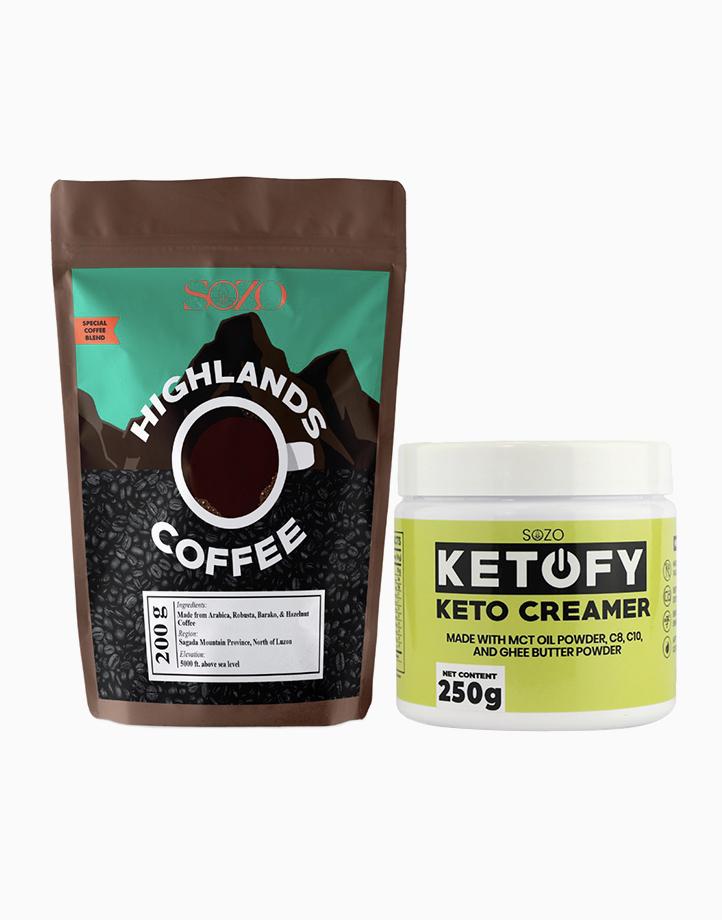 Bulletproof Coffee Set (500ml) by SOZO Natural