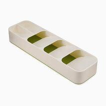 Joseph joseph drawerstore compact cutlery organiser white green 1