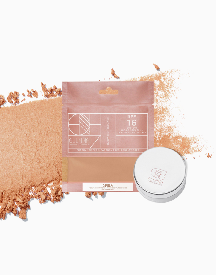 Loose Mineral Concealer Powder with Jar by Ellana Mineral Cosmetics | Smile